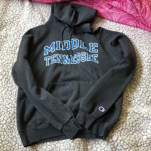 Grey Middle Tennessee Hoodie